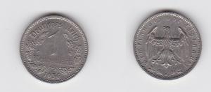 1 Mark Nickel Münze III.Reich 1936 A Jäger Nr. 354 (133229)
