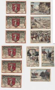 6 Banknoten Notgeld Rossmärkte Buttstädt o.D. (1921) OVP (133469)