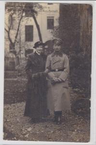 87597 Ak Prinz Joachim von Preussen & Prinzessin Marie Auguste von Anhalt 1915
