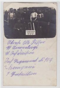 94319 Foto Ak Arbeitskommando Warmbrechies 24.10.1915