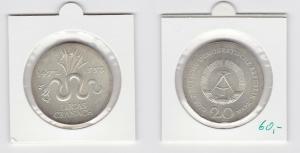 DDR Gedenk Münze 20 Mark Lucas Cranach 1972 Silber Stempelglanz (133669)
