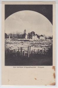 94445 Ak Smorgon Smarhon vom östlichen Kriegsschauplatz um 1915