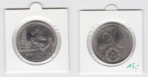 DDR Gedenk Münze 20 Mark 30.Jahrestag der DDR 1979 Stempelglanz (133619)