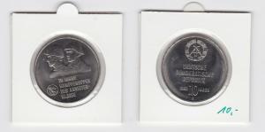 DDR Gedenk Münze 10 Mark 30 Jahre Kampfgruppen der Arbeiterklasse 1983 (133549)