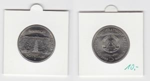 DDR Gedenk Münze 5 Mark Potsdam Sanssouci 1986 Stempelglanz (133587)