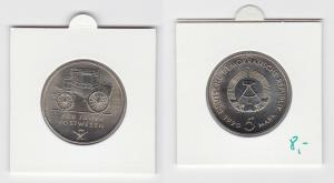 DDR Gedenk Münze 5 Mark 500 Jahre Postwesen 1990 (133628)