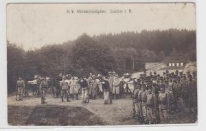 37251 Ak Zeidler (tschechisch Brtníky) K.K.Militärschießplatz 1915