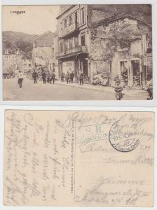 94323 Feldpost Feldbäckerei Ak Longuyon Zerstörungen 1916