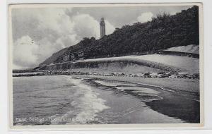 94552 Ak Seebad Horst Niechorze Hochufer mit Leuchtturm 1938