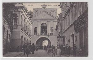 93199 Feldpost Ak Wilna Vilnius Ostro Brama 1916