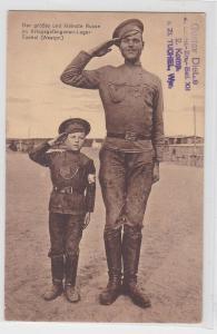 91260 Feldpost Ak Kriegsgefangenenlager Tuchel in Westpreussen 1916