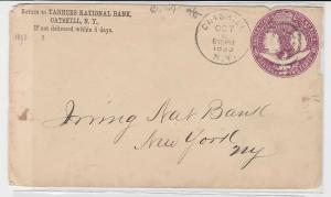 94056 seltener Ganzsachen Brief USA Kolumbusausstellung 1492-1892