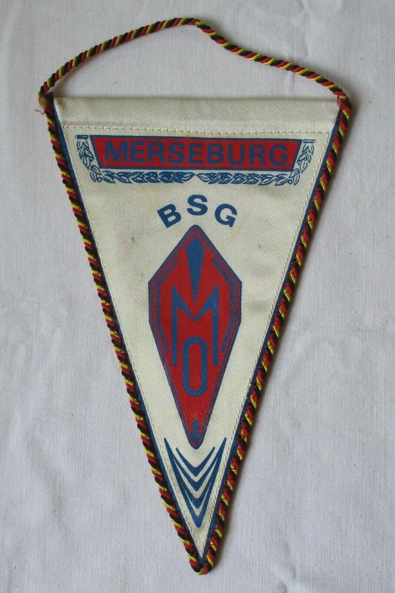 DDR Wimpel BSG (Betriebssportgemeinschaft) Merseburg DTSB (123563) 0