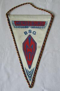 DDR Wimpel BSG (Betriebssportgemeinschaft) Merseburg DTSB (123563)