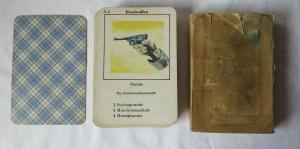 Wehrmacht Oberkommando des Heeres, altes Quartettspiel aus Fronteinsatz (129657)