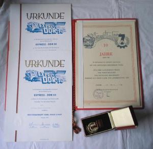 DDR Urkunden & Orden Aktivist des 7 Jahrplan 1966 (118801)