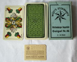 Wüst's Sternkarte Gaigel Nr. 46 Altenburg Württemberger Doppelbild 1940 (126048)