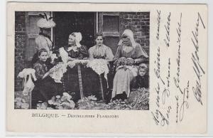 94060 AK Belgique - Dentellières Flamandes (Belgien - Flämische Klöppler) 1904