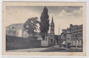 94318 Feldpost AK Lambersart - Straßenansicht mit Geschäften und Kirche 1916