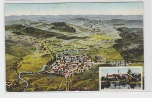 90765 Feldpost AK Geisenfeld und Umgebung aus der Vogelschau 1916