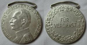 Baden Silberne Verdienstmedaille Friedrich II. ab 1917 (102001)