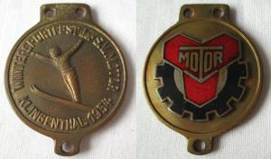 DDR Medaille Wintersportfest der Sportvereinigung Motor Klingenthal 1954 (104930
