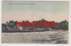 72844 Ak Strand von Monrovia (Liberia Westafrika) um 1900