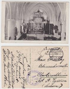 71663 Feldpost Ak Dun a.d. Maas sächs.Mörser Regiment Nr.12, 1916