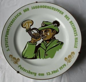 5. Stützpunktvergleich d. Jagdhorngruppen des Bezirkes Halle Petersberg (105708)