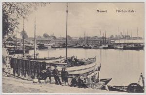 69328 AK Memel (Klaipėda) Fischereihafen um 1910