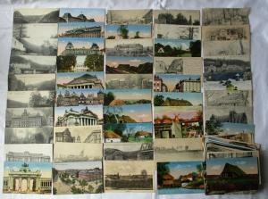 100 Ansichtskarten gelaufen als Feldpost im 1. Weltkrieg (102327)