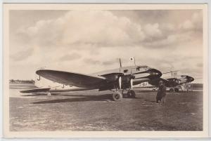 72544 Ak Heinkel Langstrecken Postflugzeug He116 vor dem Start nach Japan