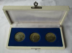 3 DDR Medaillen der Staatssicherheit MfS - Schulze-Boysen, Abel, Sorge (105329)