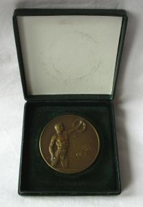 Bronze Medaille V. Thüringer Schwimmverein Streckentauchen Gera 1922 (104682)