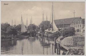 94330 AK Memel (Klaipėda) Hafen mit Schiffen um 1915