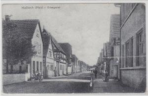 92404 Ak Haßloch (Pfalz) Gillergasse 1919