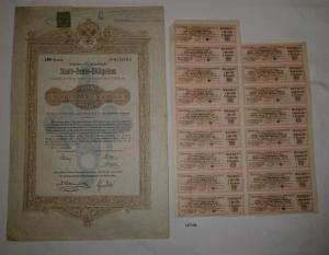 100 Kronen Staats-Renten-Obligation Staatsschulden-Controlcommission (127168)