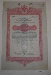 200 Kronen Staats-Renten-Obligation Staatsschulden-Controlcommission (127081)