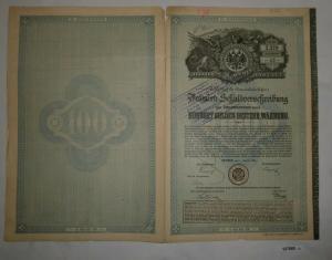100 Gulden Prämien-Schuldverschreibung Boden-Credit-Anstalt Wien 1889 (127068)