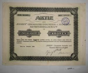 200 Kronen Aktie