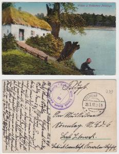 89459 Feldpost Ak Sjedlez Kaiserliche Militär Eisenbahn Masch.Amt 1917