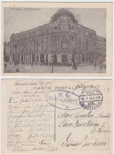 94677 Feldpost Ak Lille II.Munitions Kolonne Abteilung 1915