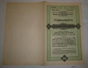 10000 Kronen Schuldverschreibung Anleihe der Stadtgemeinde Graz 1920 (127438)