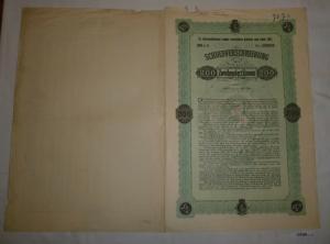 200 Kronen Schuldverschreibung Steiermärkische Landes-Investition 1921 (127069)