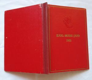 Seltenes DDR Jahrbuch Karl-Marx-Jahr 1953 Gedenkbüchlein (129379)