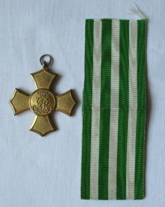 Sachsen Ehrenkreuz (Allgemeines Ehrenzeichen) 1876 1.Weltkrieg am Band (119979)