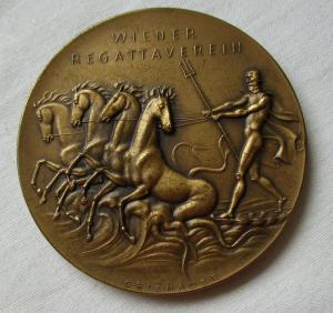 Seltene Bronze Medaille Wiener Regattaverein Jubiläumsregatta 1932 (118210)