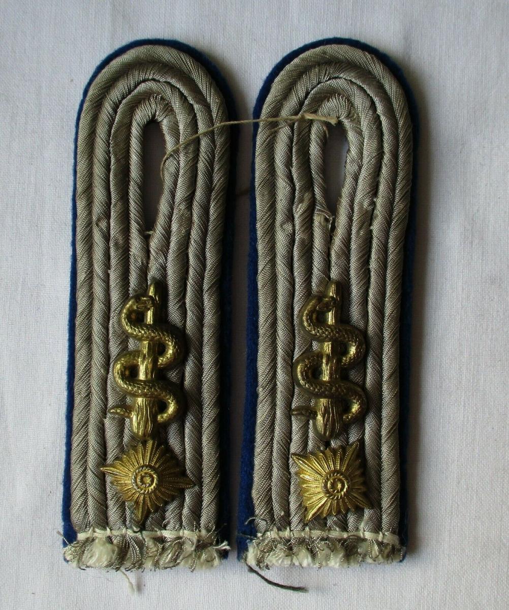 Seltene Schulterstücke Oberleutnant Sanitätstruppe WH 2. Weltkrieg (116994) 0