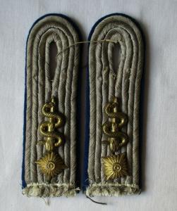 Seltene Schulterstücke Oberleutnant Sanitätstruppe WH 2. Weltkrieg (116994)