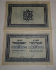 50 Schilling Aktie Allgemeine Österreichische Boden-Credit-Anstalt 1926 (127277)